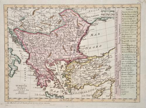 Bonne Rigobert Turquia Euròpea y parte de la de Asia