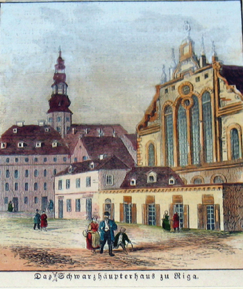 Anonymus  Das Schwarzhäupterhaus zu Riga