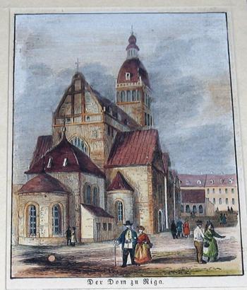 Anonymus  Der Dom zu Riga