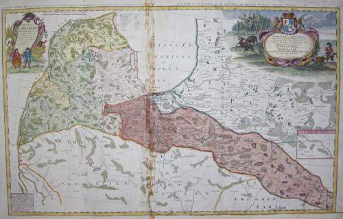 Homann Erben  Ducatus Curlandiae juxta Barnikelii architecti curiciprimarii..