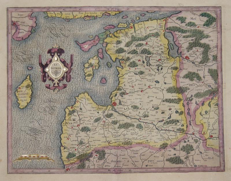 Mercator  Livonia