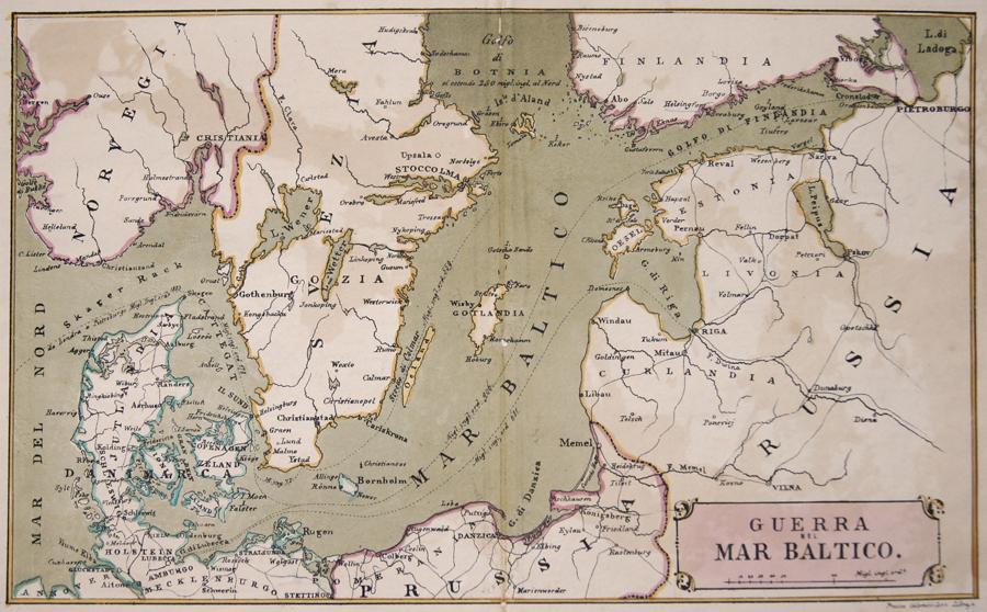 Coen Colombo Guerra nel Mar Baltico.