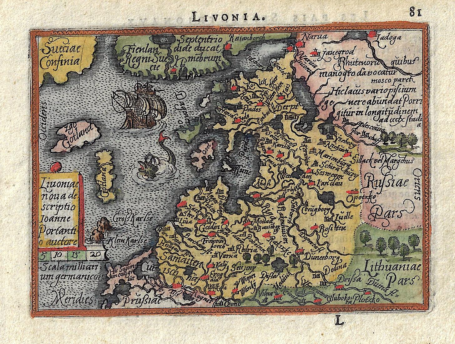 Bertius  Livonia.