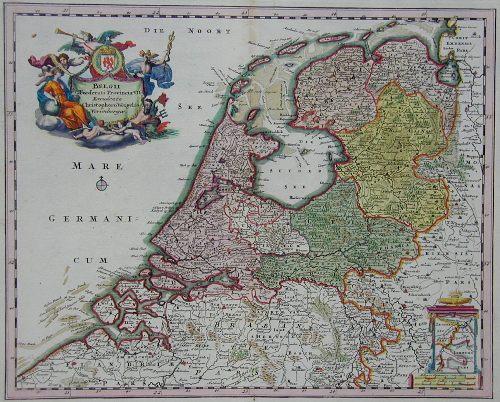 Weigel Christoph Belgii voederati Provincia VII