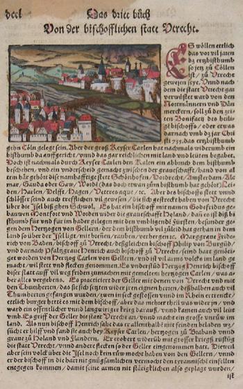 Münster Sebastian Von der Bishoflichen statt Utrecht