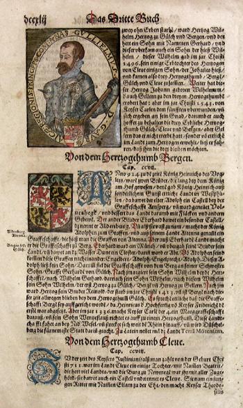Münster Sebastian Das Dritte Buch/ Von Hertzogthumb Bergen