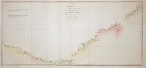 Cook/ Whitchurch James / Gulielmus Carte de la N. Galles merid… N. Hollande