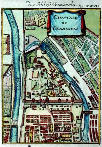 Mallet  Chasteau de Cremenela, Das Schloss Cremenela