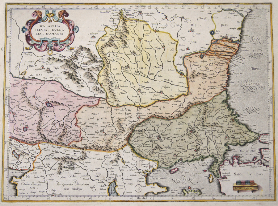 Mercator  Walachia, Sevia, Bulgaria, Romania