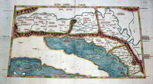 Ptolemy/ Petrus de Turre  Quinta Europe tabula