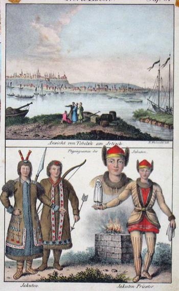 Weibezahl R. Ansicht von Tobolsk am Jrtisch/ Jakuten