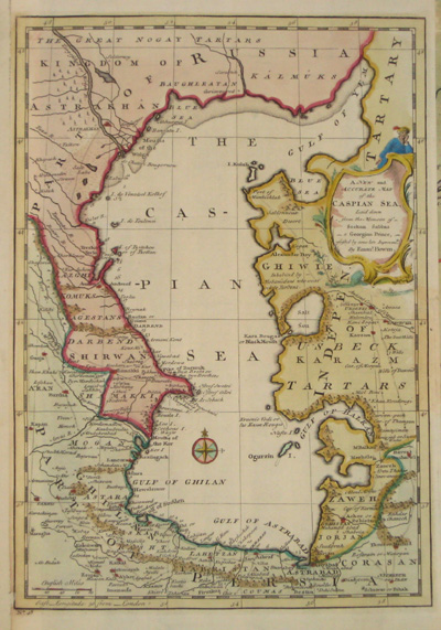 Bowen Emanuel A new and accurate map of the Caspian Sea ….