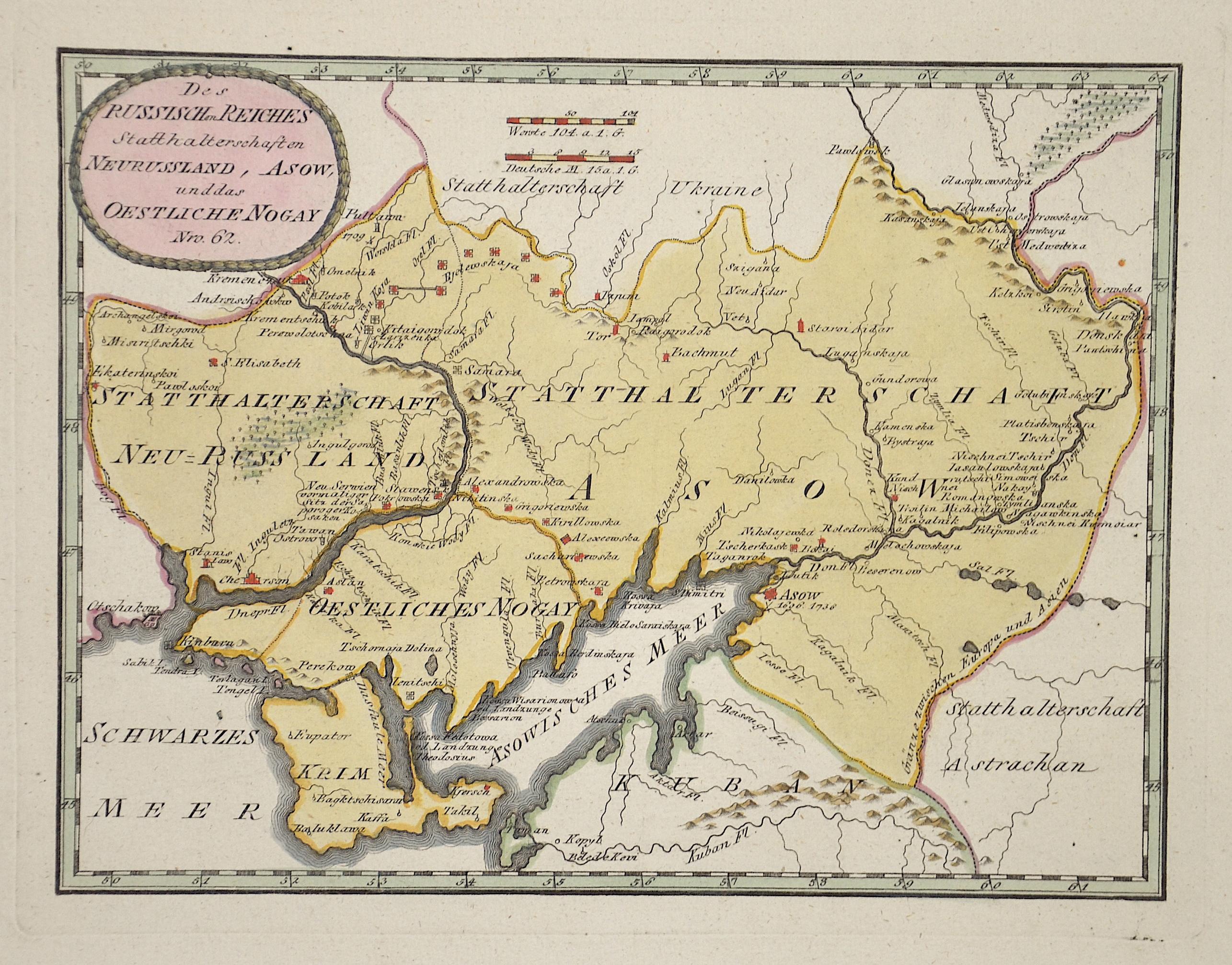 Reilly  Des Russischen Reiches Statthalterschaften Neurussland, Asow und das östliche Nogay