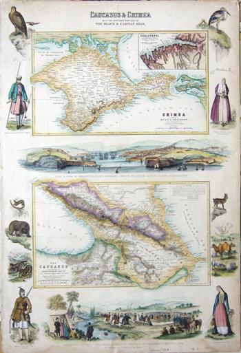 Swanston  Caucasus & Crimea with the northern portins of the Black & Caspian seas