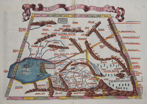 Ptolemy/ Fries Claudius/ Laurent ( Lorenz) Tabu VII Asiae