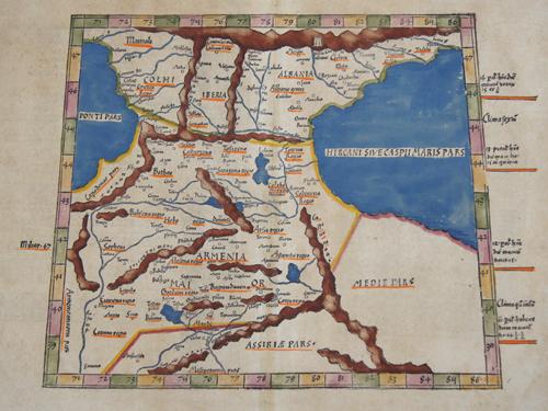 Ptolemy/ Fries Claudius/ Laurent ( Lorenz) Tabula III Asiae