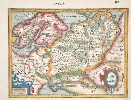 Mercator Gehard Russie / Russia cum Consinijs
