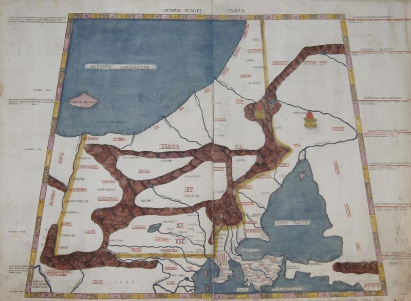 Ptolemy/Conrad Sweynheym  Octava Europe Tabula