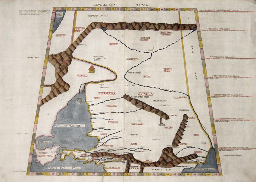Ptolemy/Conrad Sweynheym  Secunda Asiae Tbula