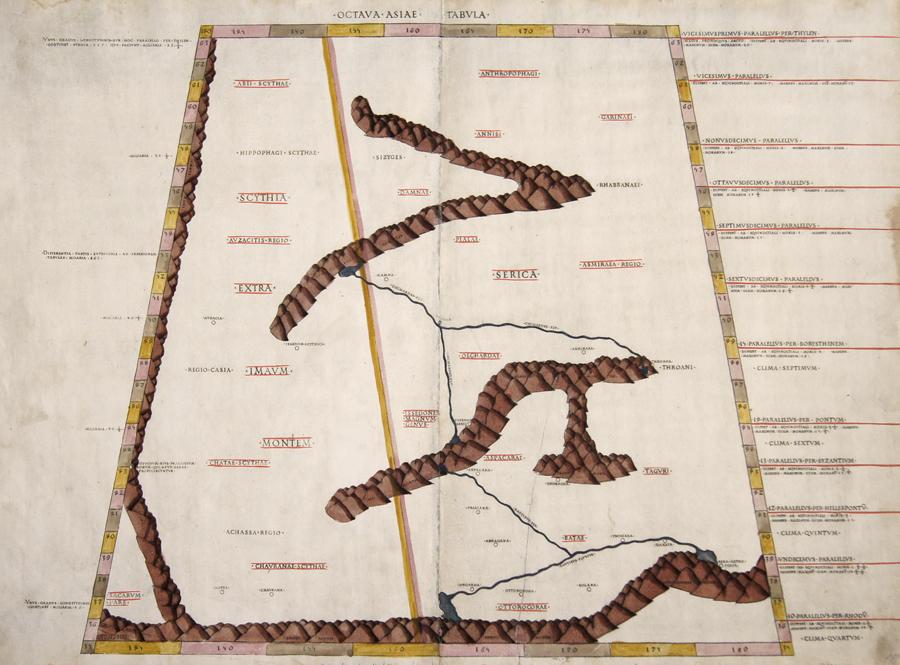 Ptolemy/Conrad Sweynheym Claudius Octava Asiae Tabula
