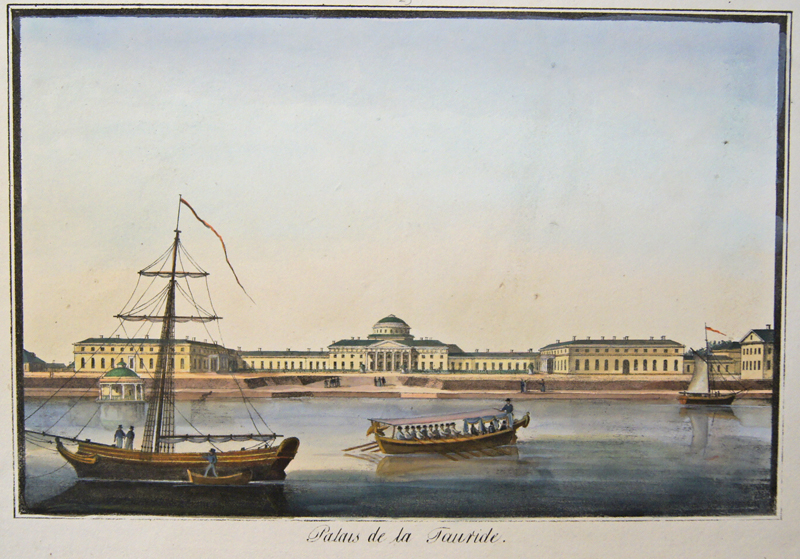 Anonymus  Palais de la Tauride.