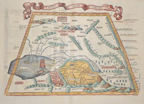 Ptolemy/ Fries Claudius/ Laurent ( Lorenz) Tabu.VII. Asiae