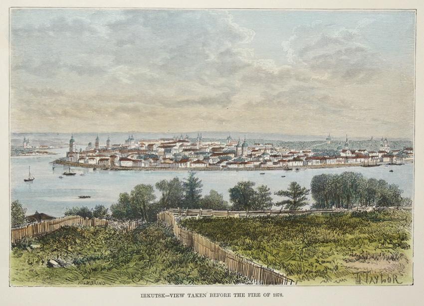 Taylor  Irkutsk-View taken before the fire of 1878