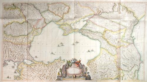 Remondini (Antonio Rizzi-Zannoni)  Carte de la Partie septentrionale de l Empire Otoman Contenant la Crimee, la Moldavie, la Valakie, la Bulgarie, avec la Nouvelle Russie,…