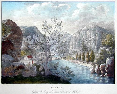 Kunike Adolf Friedrich Bannat/Gegend bey der Veteranischen Höhle