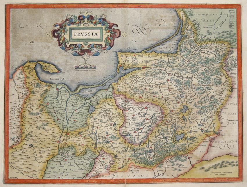 Mercator  Prussia