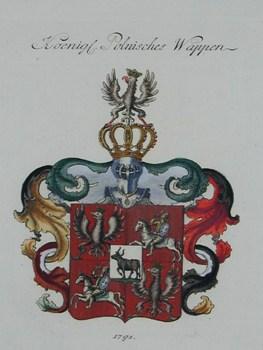Anonymus  Koenigl. Polnisches Wappen 1791