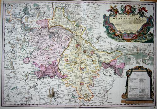 Homann Erben  Principatus Silesiae Wratislaviensis………