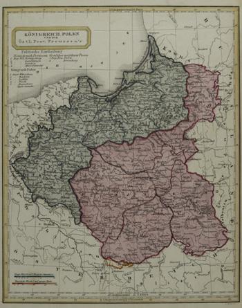 Biller  Königreich Polen und die östl. Prov. Preussen´s