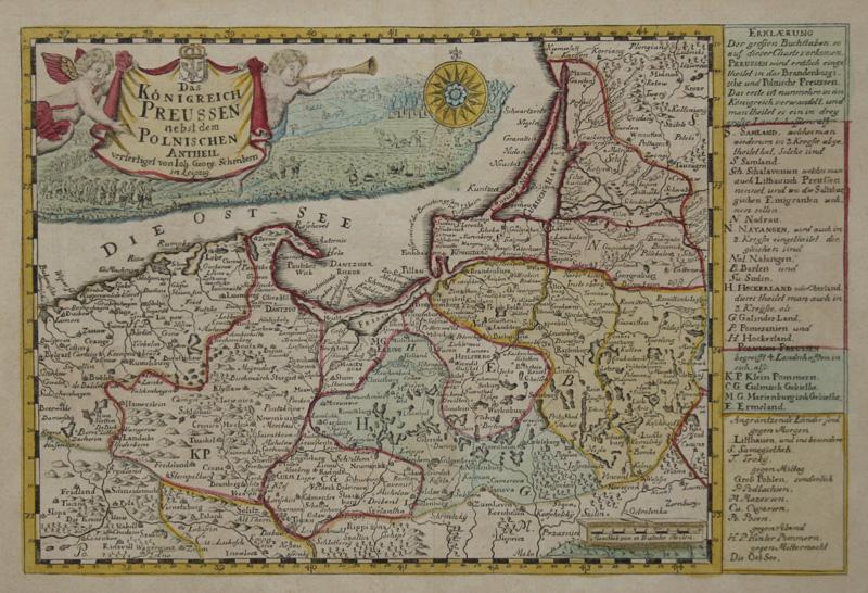 Schreiber  Das Königreich Preussen nebst den polnischen Antheilen