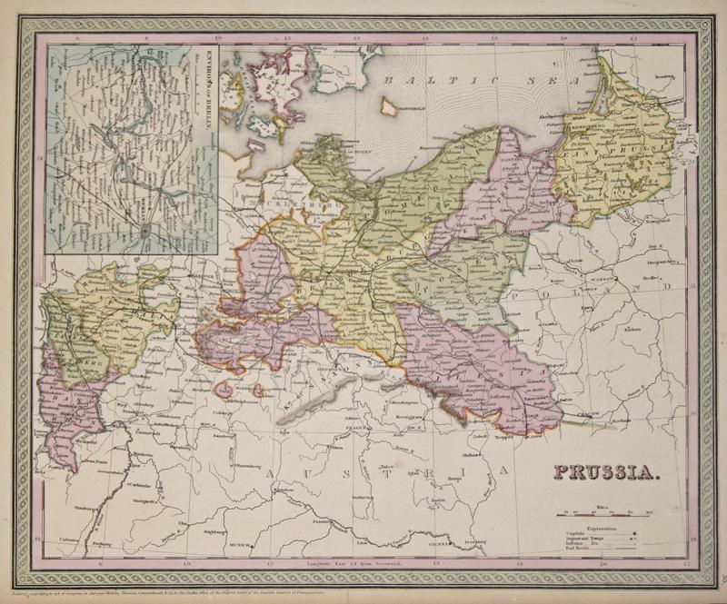 Cowperthait  Prussia. Environs of Berlin.