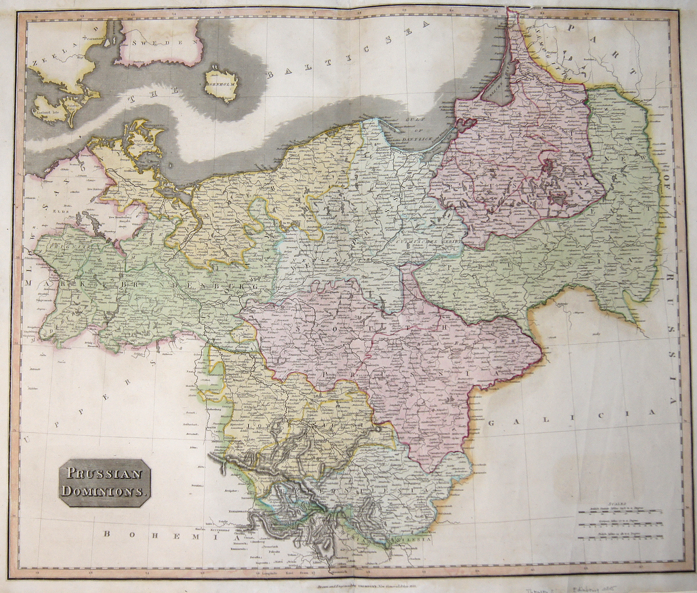 Thomson  Prussian Dominions.