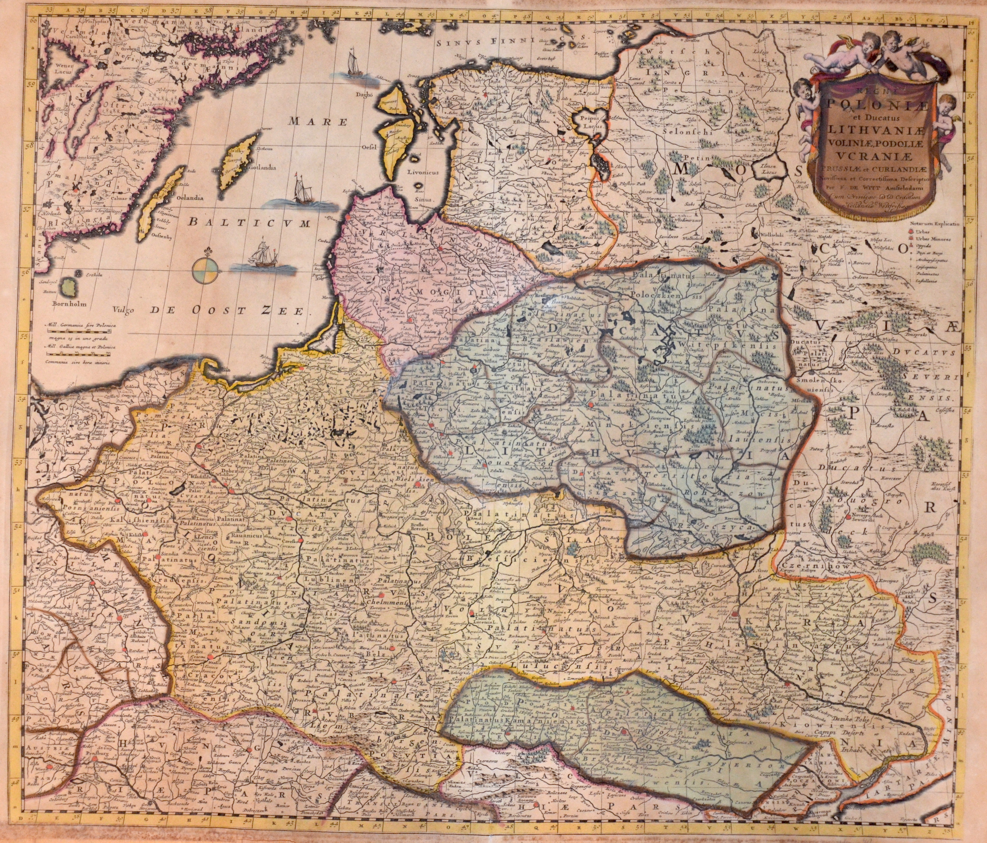 Wit, de  Regni Poloniae et Ducatus Lithuaniae Voliniae, Podoliae Ucraniae Prussiae et Curlandiae