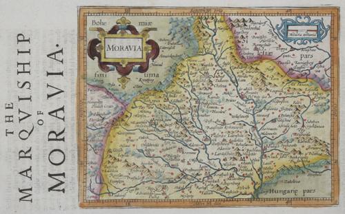 Hondius/Sparke  The Marquiship of Moravia