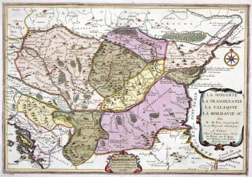 Fer, de  La Hongrie, La Transilvanie, la Valaquie, La Moldavie