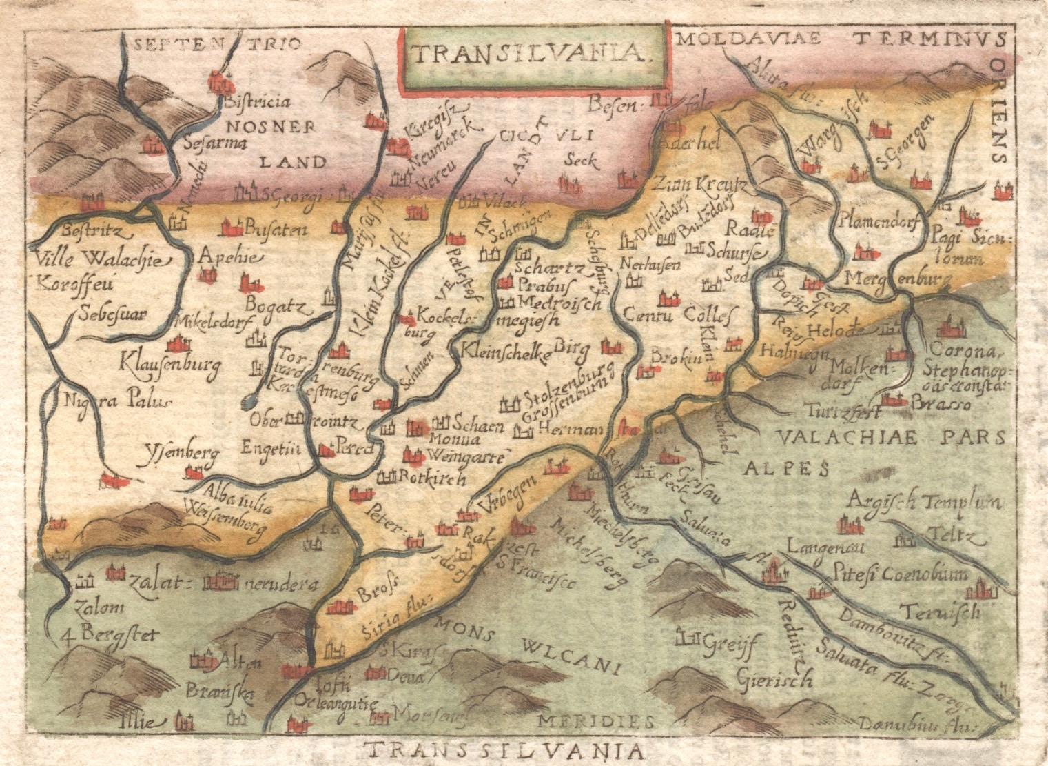 Bertius  Transilvania