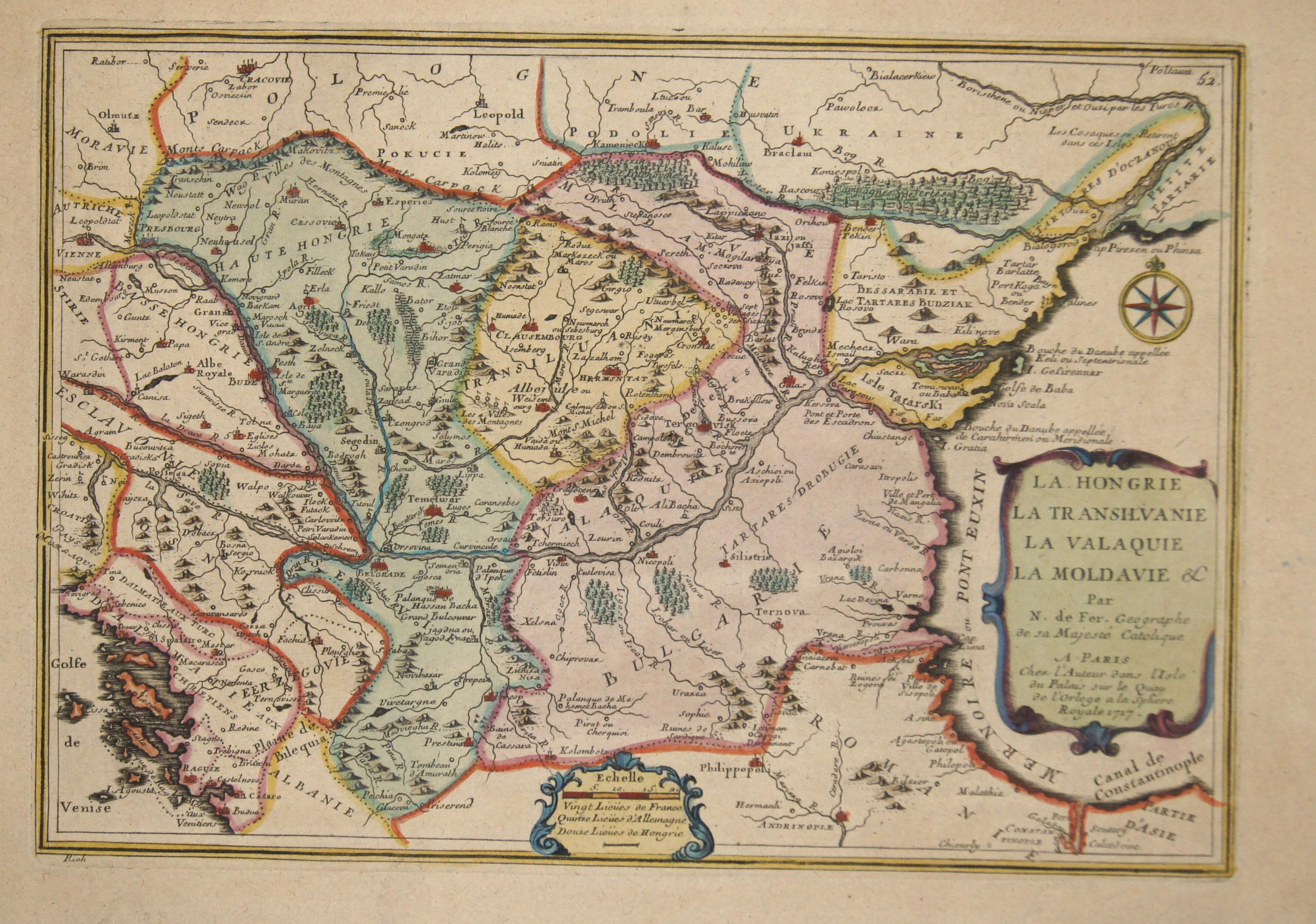 Fer, de Nicolas La Hongrie la Transilvanie la Valaquie la Moldavie
