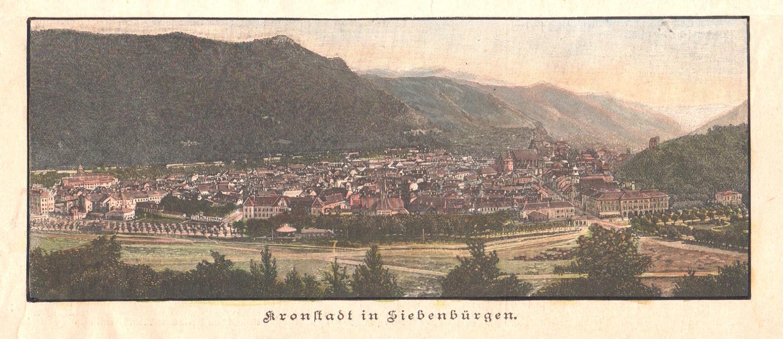 Anonymus  Kronstadt in Siebenbürgen.