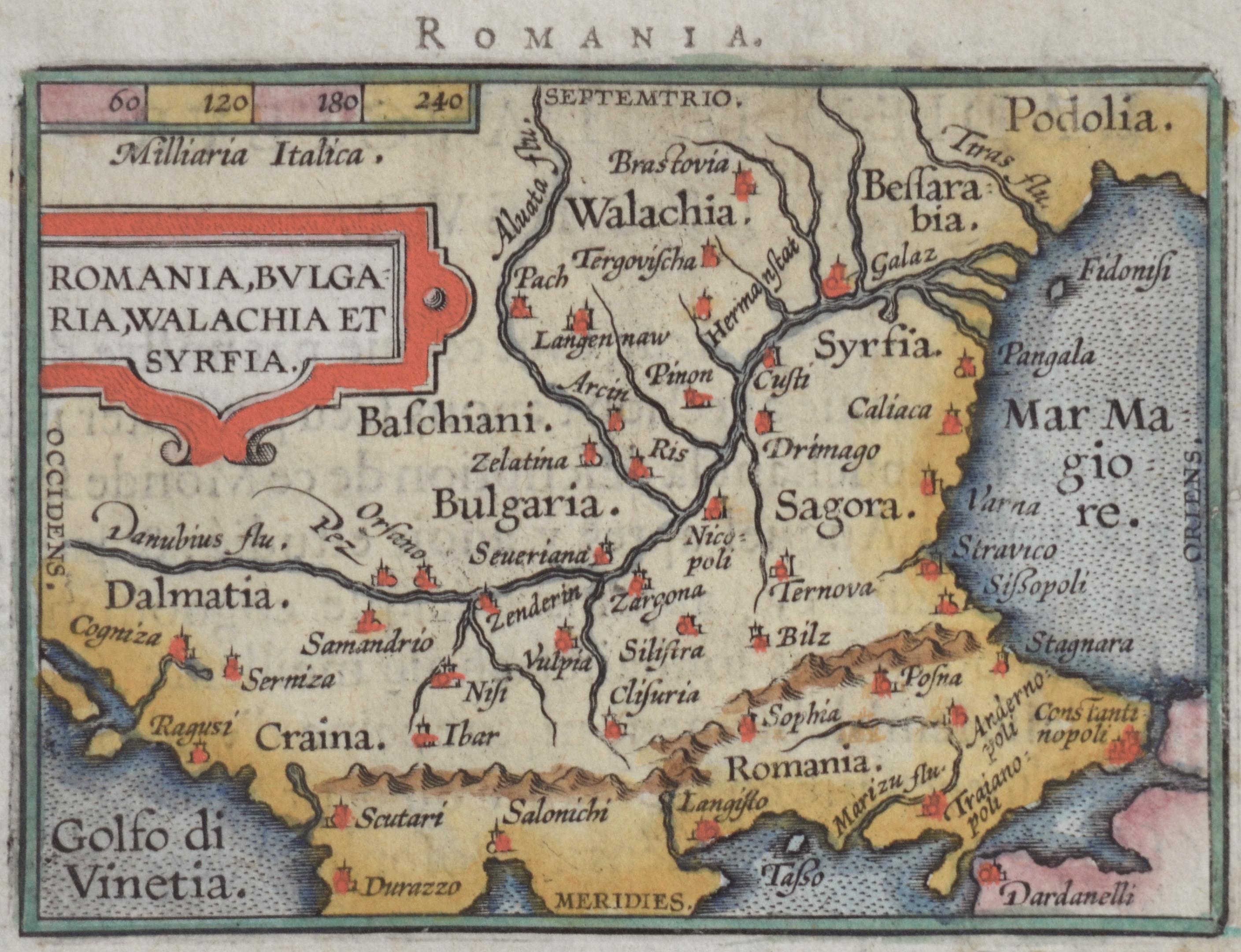 Mercator  Romania, Bulgaria, Walachia et syrfia.