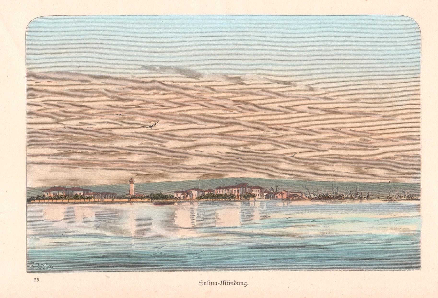 K.  Sulina-Mündung.