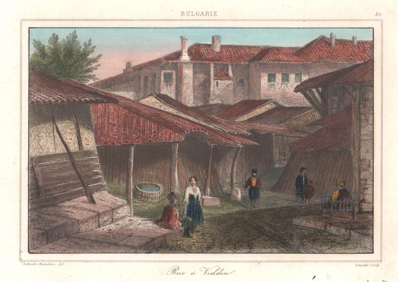 Lemaitre Augustin Francois Rue a Viddin.