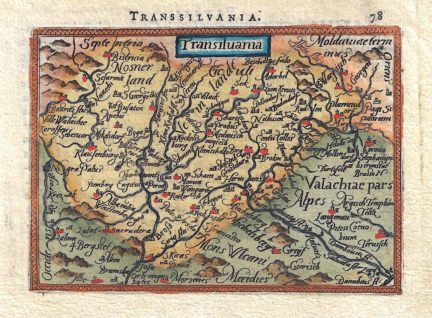 Bertius  Transsilvania.