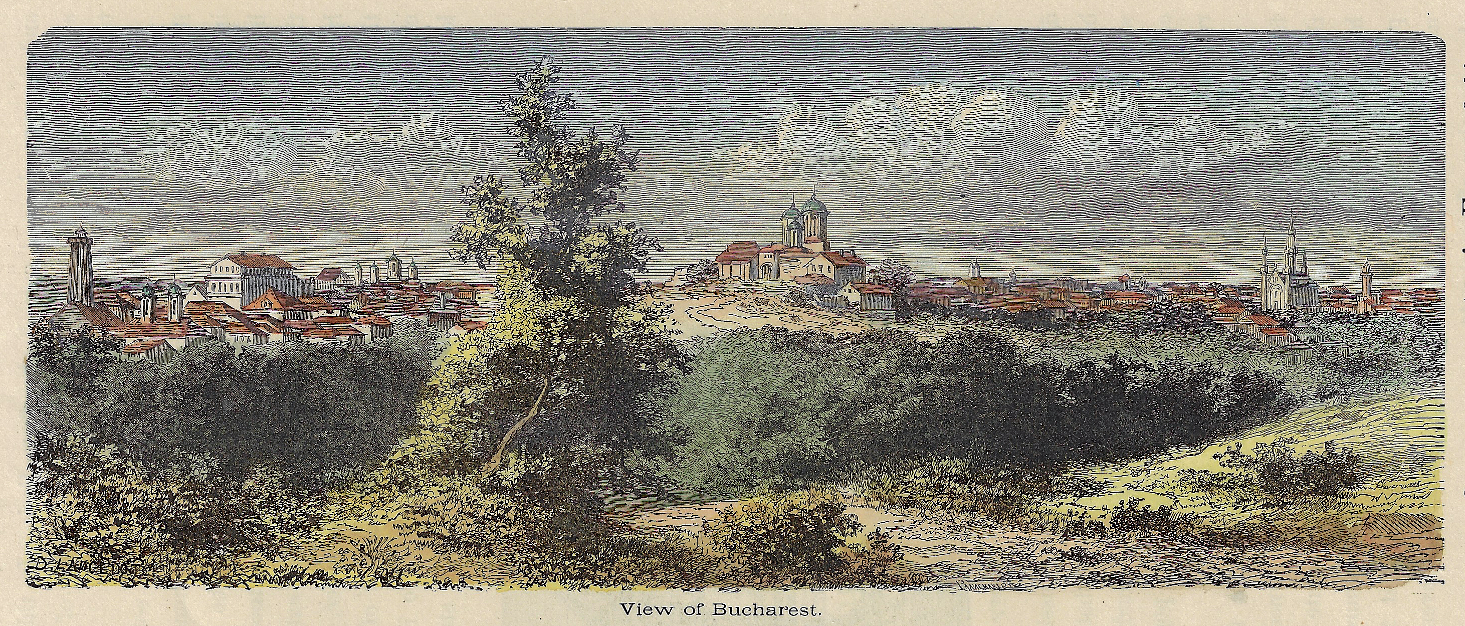 Anonymus  View of Bucharest.