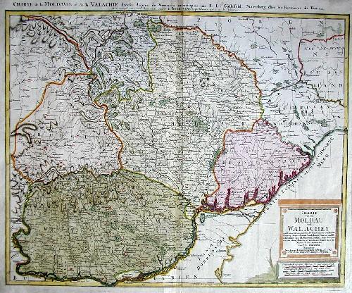 Güssefeld  Chate von der Moldau und Wallachey