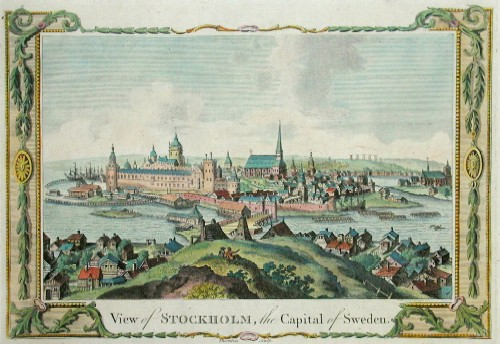 Thornton  View of Stockholm, the Capital of Sweden