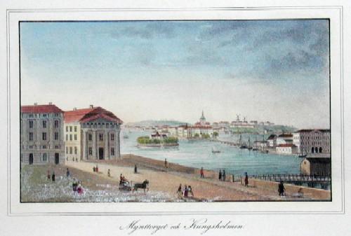 Scheele v. C. Mynttorget och Kungsholmen